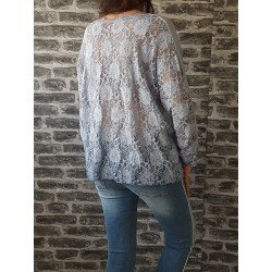 Top Loose Enoa Blanc